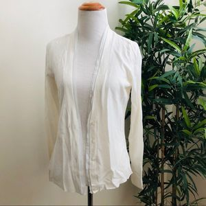 New York & Co. | White cardigan | Sz Small